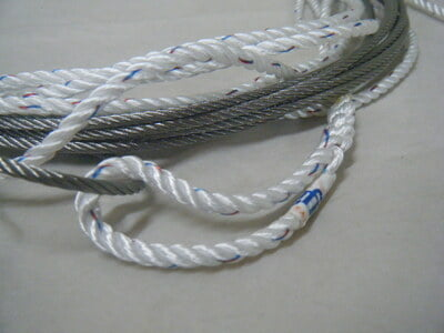 Firefly Jib Halyard - Wire and Rope